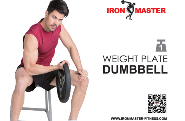WEIGHT PLATE DUMBBELL