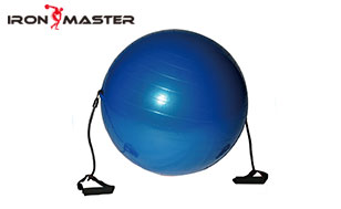 Accessory Exercise Home Gymball With Resistance Tube