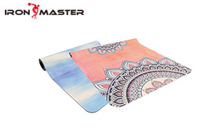 Accessory Exercise Home Suede Yoga Mat