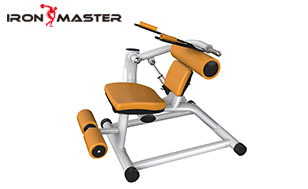 Gym Exercise Commercial Equipment Abdominal Crunch/ Back Extension