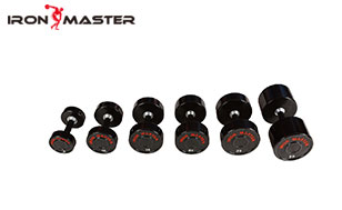 Accessory Exercise Home Cpu Dumbbells With Thread& Chromed Handle
