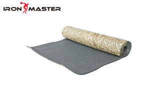 Accessory Exercise Home Non-slip Comfortable Yoga Mat With Transfer Printing