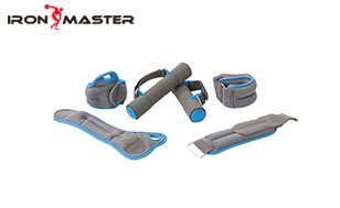 Accessory Exercise Home Foam Dumbbells+Wrist Sandbags+Ankle Weight Sandbags Soft Weight Set