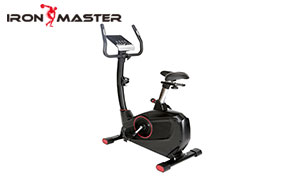 Home Gym Exercise Equipment  Silent Belt Drive Magnetic Upright Bike With Steel Flywheel,adjustable Seat And Handlebar, Lcd Monitor