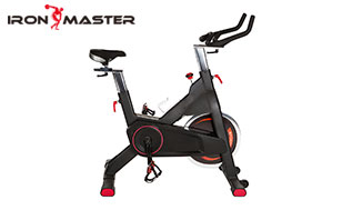 Home Gym Exercise Equipment  Indoor Cycling Stationary Bike With  Adjustable Seat Stable Quiet