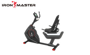 Home Gym Exercise Equipment Recumbent Exercise Bike Indoor Cycling Stationary Bike With Adjustable Seat And Resistance