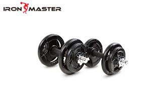 Accessory Exercise Home Cast Iron Exercise Muscle Weight 20kg Rubber Dumbbell Set