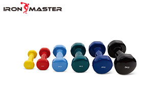 Accessory Exercise Home Cast Iron Exercise Muscle Weight Vinyl Dipping Dumbbells