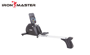 Gym Exercise Commercial Equipment LED Self-Powered Rowing Machine