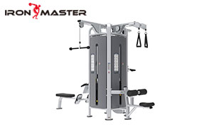 Gym Exercise Commercial Equipment Steel Weight Stack Glute