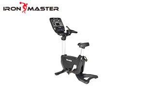 Gym Exercise Commercial Equipment Steel Program Self-powered Bluetooth Upright Bike