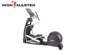 Gym Exercise Commercial Equipment Steel Self-powered Flywheel LED Cross Trainer