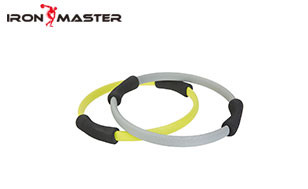 Accessory Exercise Home NBR Foam Glass Fiber Color Box Tension Resistance Pilates Ring