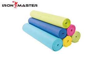 Accessory Exercise Home Shrink Package Color Poster Pilates PVC Yoga Mat